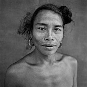 Mru tribe member. Chittagong Hill Tracks, Bangladesh.