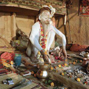 All White Sadu, Varanasi, India