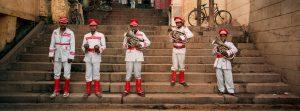Band of Five, Varanasi, India