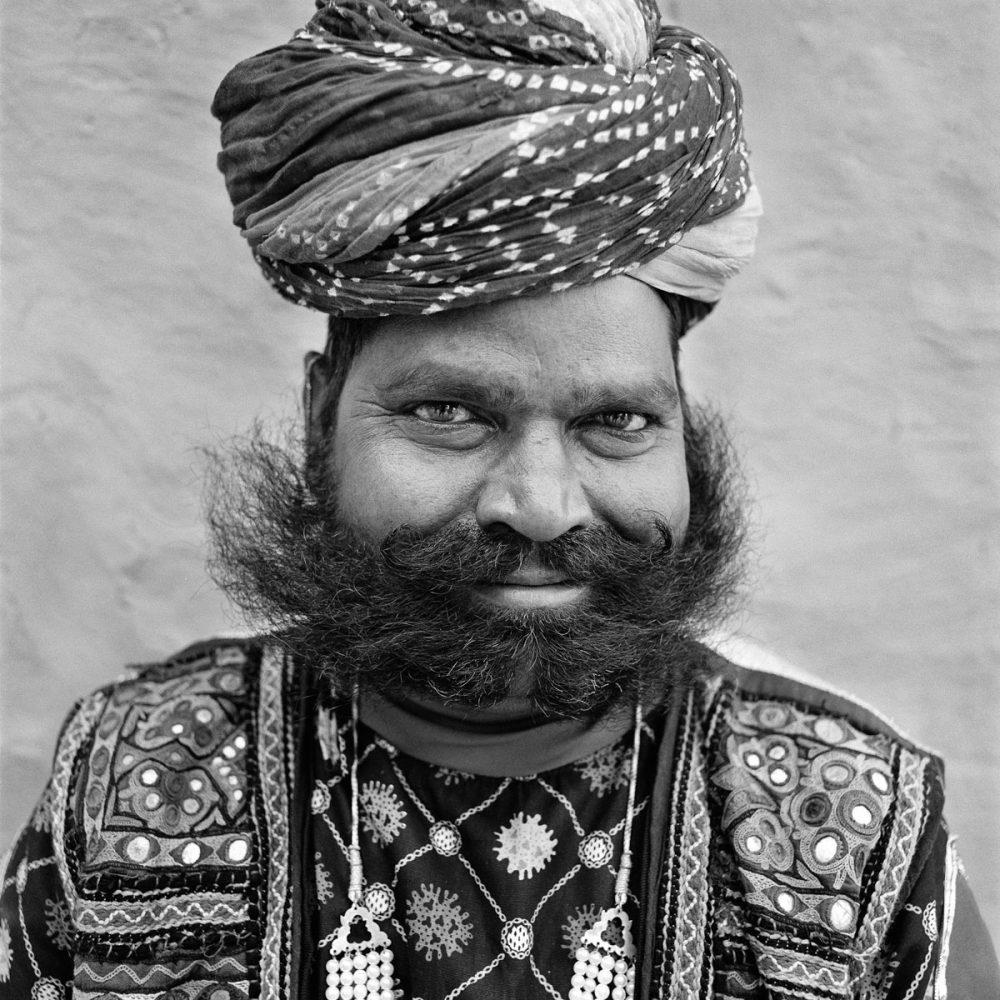 Bearded Man, Rajasthan, India