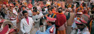 Musicians, Varanasi, India