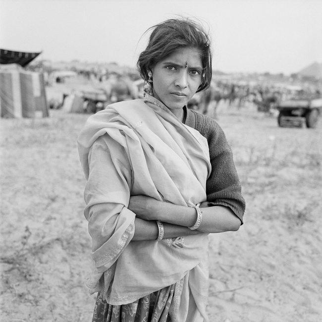 Girl at Fair, Pushkar, Rajasthan, India