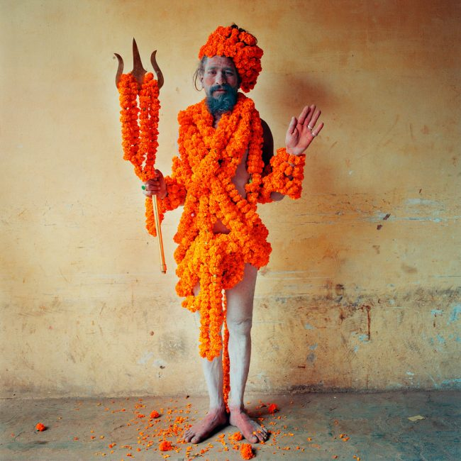 Marigold Man, Varanasi, India