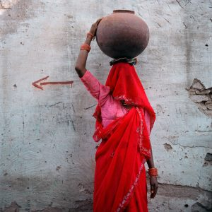 Woman With Pot, Rajasthan, India