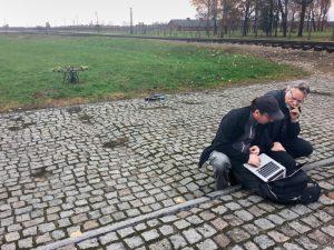 Burtynsky and Panou at Auschwitz