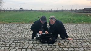 Burtynsky and Panou at Auschwitz