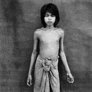 Young Mru tribe member. Chittagong Hill Tracks, Bangladesh.